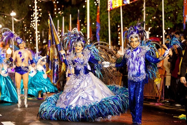 Yes, we have CARNIVAL in Madeira Island!